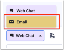 Choose email option