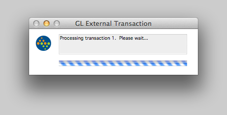 Processing Transactions.