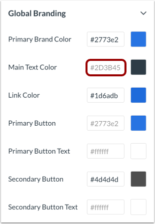 Select Color via CSS