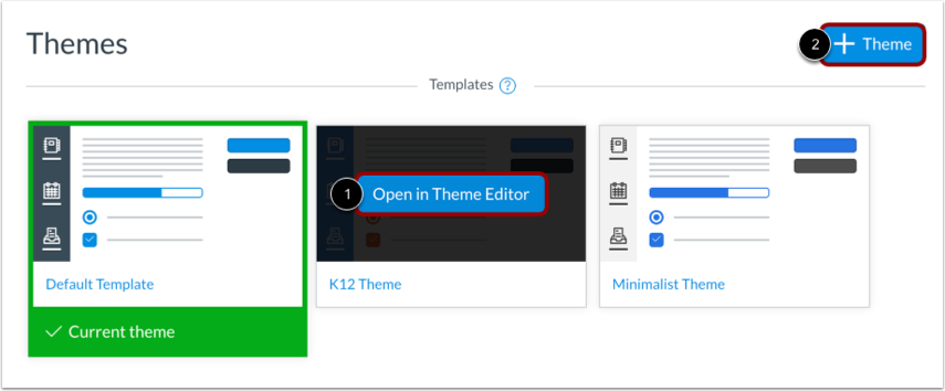 Open Theme Template