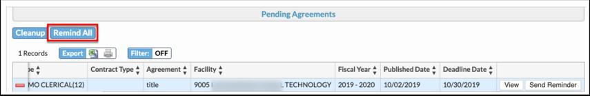 Employment Agreement Maintenance