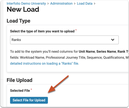 save file and select for upload