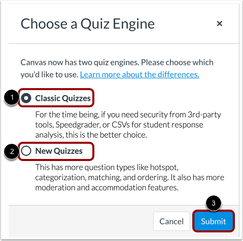 Select Quiz Engine