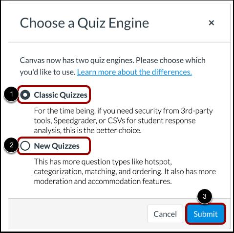 Select Quiz Engine