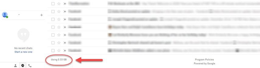 Gmail file size