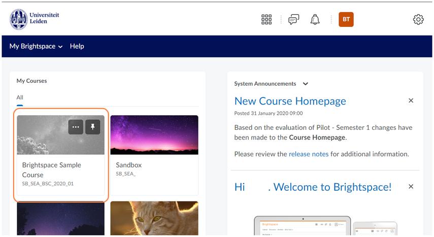 Homepage - Leiden University - Google Chrome