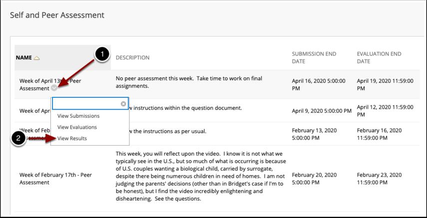 Self and Peer Assessment – 2020:1 Spring, EDP5240 (...