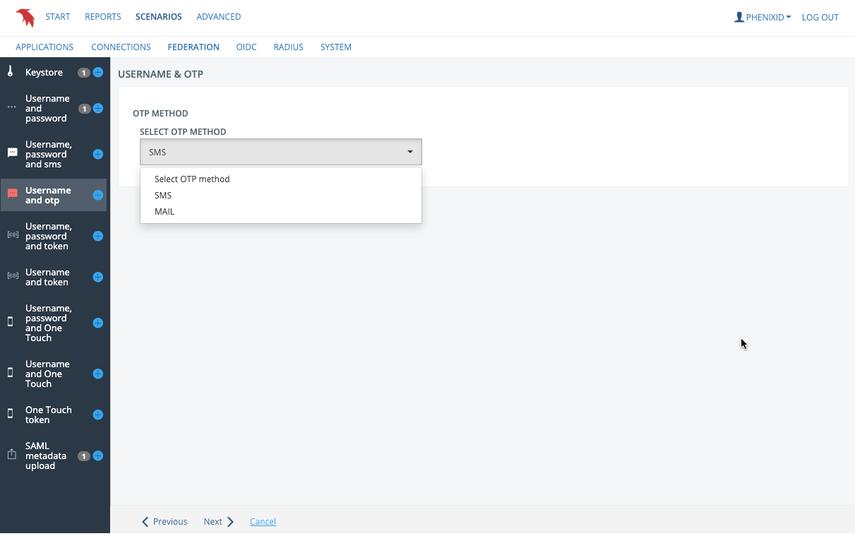 Message gateway settings