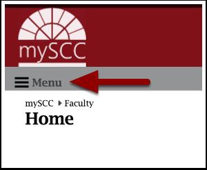 mySCC faculty homepage detail