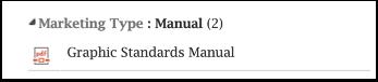 Graphic Standards Manual download link