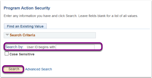 Program Action Security - Mozilla Firefox