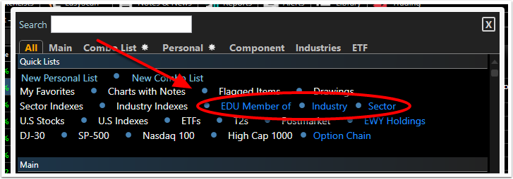 2. Select any of the Related Items that are highlighted blue.