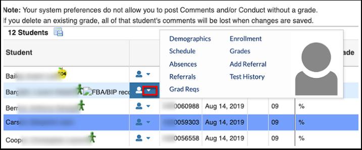 Post Final Grades