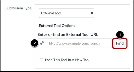 Hitta Externt verktyg
