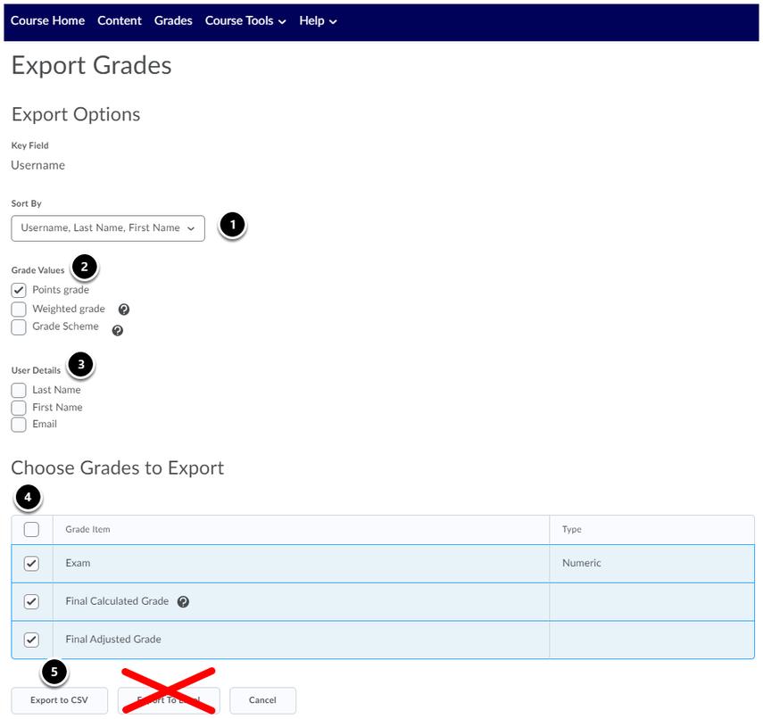 Export Grades - November Release - Leiden University - Google Chrome