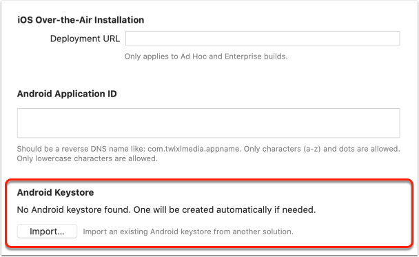 Migrating your Google Play app from another platform, such as Adobe DPS, etc.