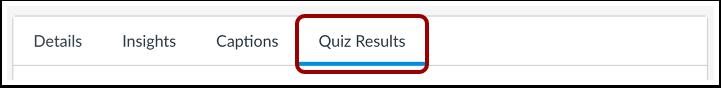 Open Quiz Results