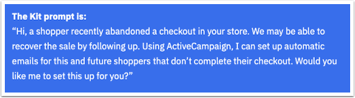 Shopify Abandoned Cart Kit Skill - Google Docs