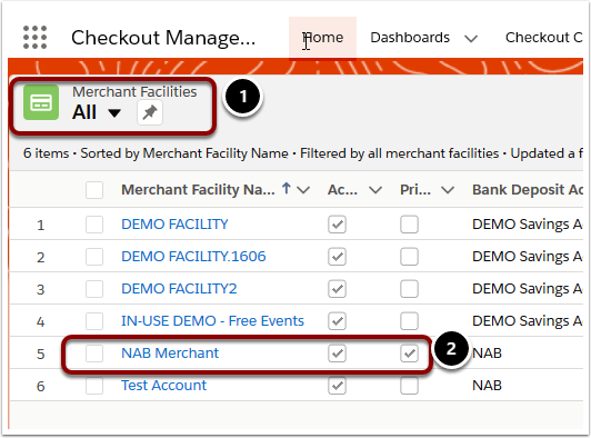 All | Merchant Facilities | Salesforce - Mozilla Firefox