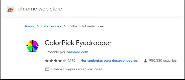 ColorPick Eyedropper - Chrome Web Store - Google Chrome