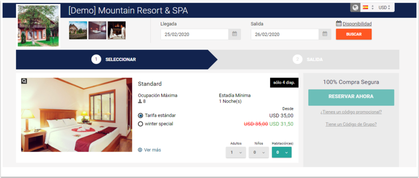 [Demo] Mountain Resort & SPA - Kyiv, Ukraine - Best Price Guarantee - Google Chrome