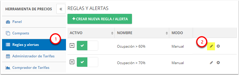 DEMO - Colombian Highlands - Reglas y alertas - Google Chrome