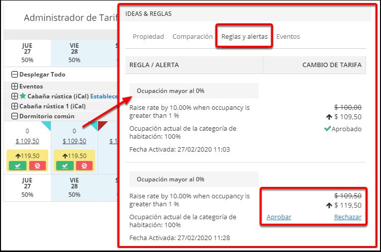DEMO - Colombian Highlands - Administrador de Tarifas - Google Chrome