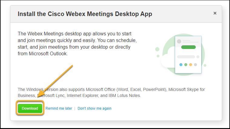 Webex Enterprise Site - Google Chrome