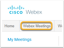 Webex Enterprise Site - Google Chrome