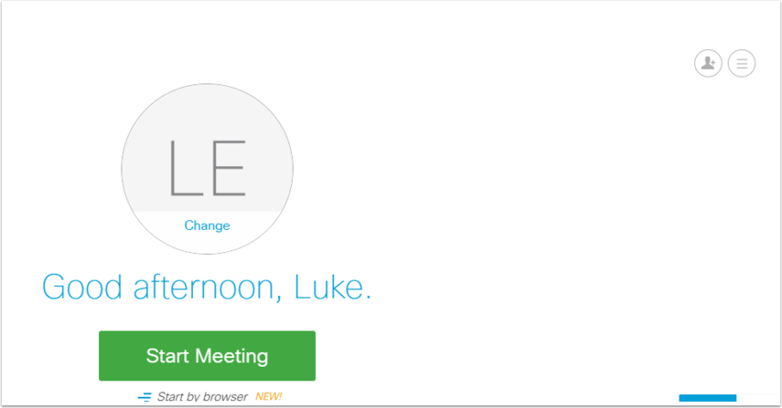 Webex Meetings - Google Chrome