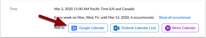 Meeting Information - Zoom