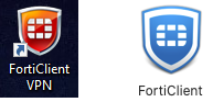 Forticlient icons