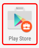 Open the Badged Android for Work Play Store App