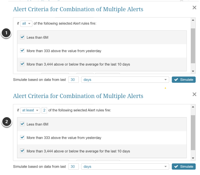 "Combination of multiple Alerts (aka ""Compound"")"