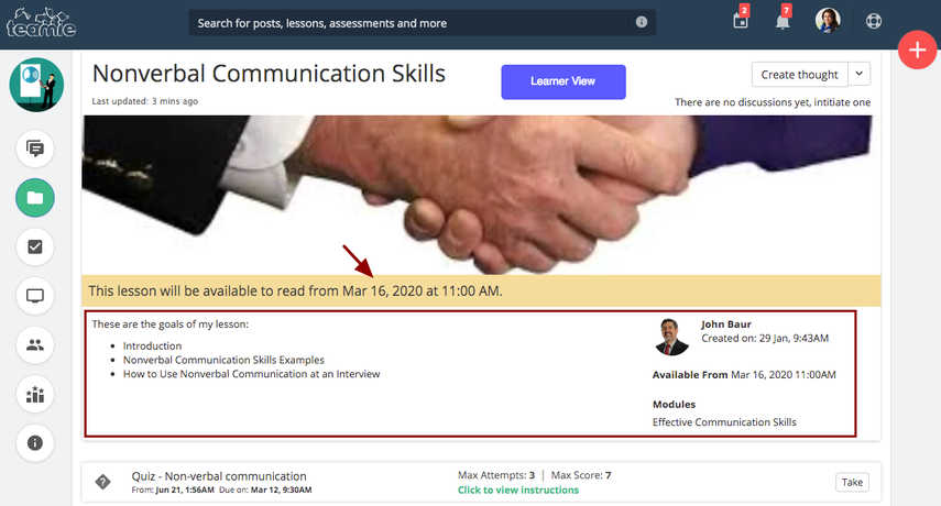 (7) Nonverbal Communication Skills | Training Demo