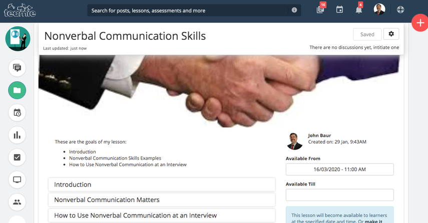 (4) Nonverbal Communication Skills | Training Demo