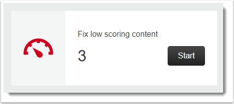 fix low scoring content area is shown
