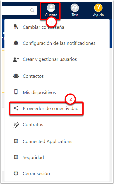 Test · Seguridad - Google Chrome