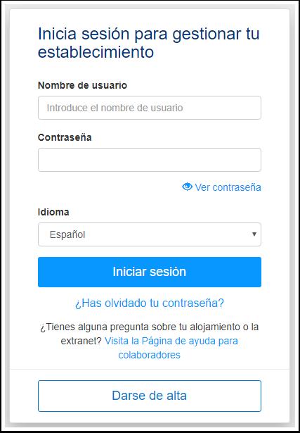 Booking.com Extranet - Google Chrome