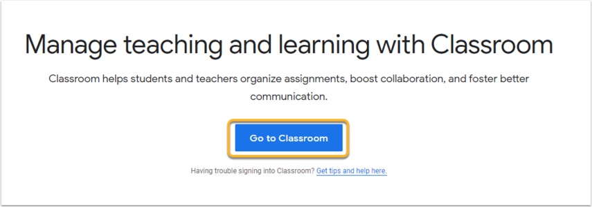 Classroom: manage teaching and learning | Google for Education - Google Chrome