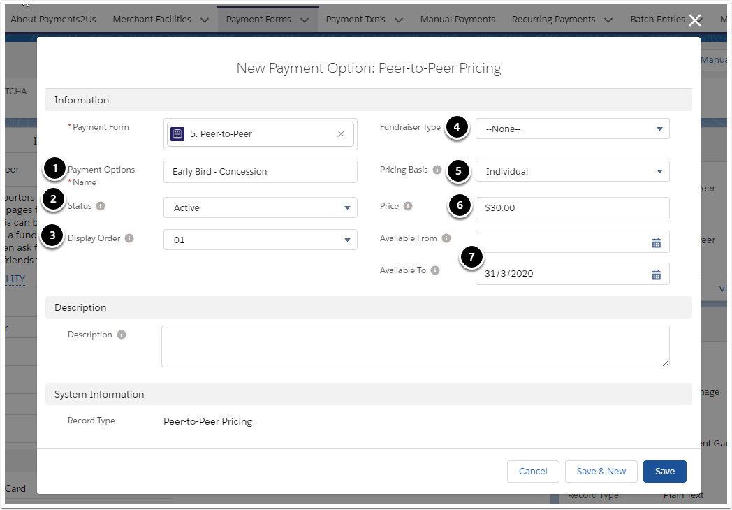 New Payment Option: Peer-to-Peer Pricing | Salesforce - Google Chrome