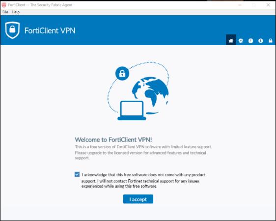 VPN Acceptance Text