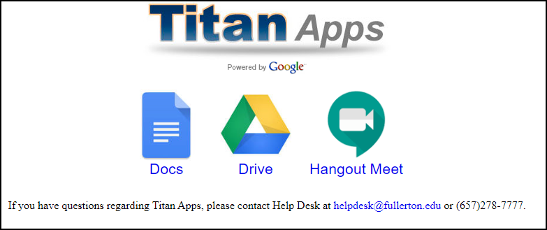 Titan Apps for employees