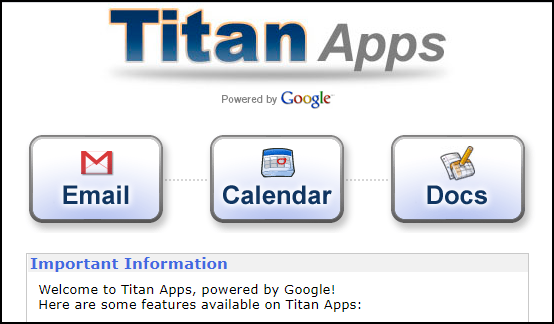 Titan Apps for students