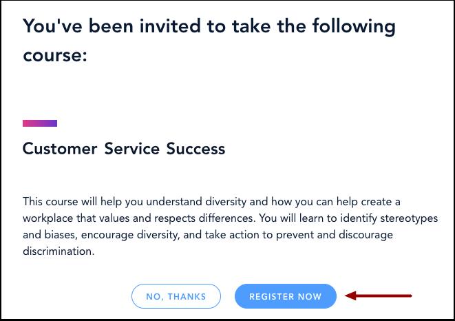 Confirm Course Registration