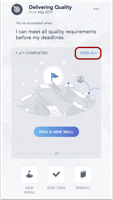 Image of Focus Skill Builder with completion graphic