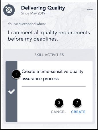 Image of Focus Skill Task form