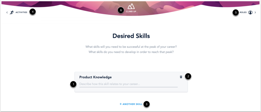 View Added Desired Skill