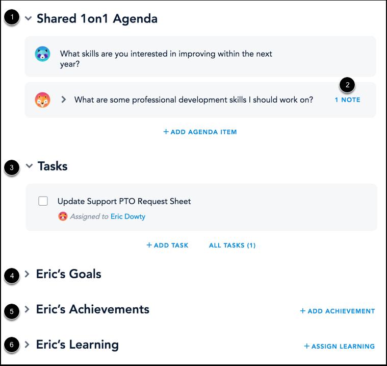 View Agenda Items