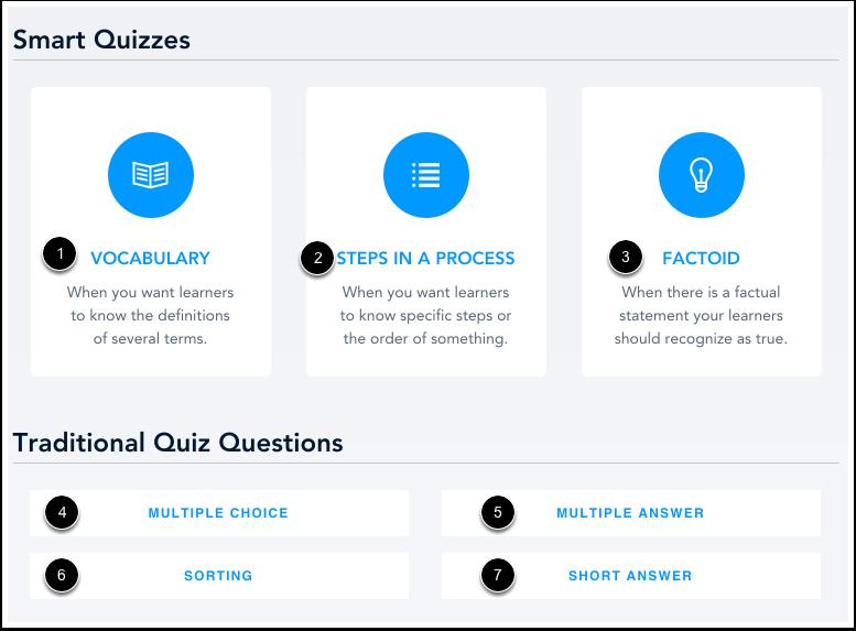 Add Quiz Type